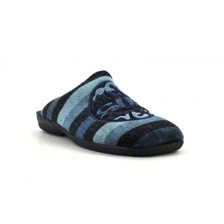 Zapatillas de casa de DEVALVERDE modelo 3094 color azul marino