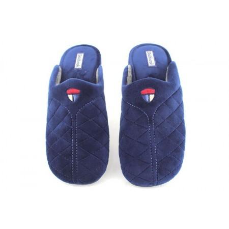 Zapatillas de casa de DEVALVERDE modelo 3099 color azul marino