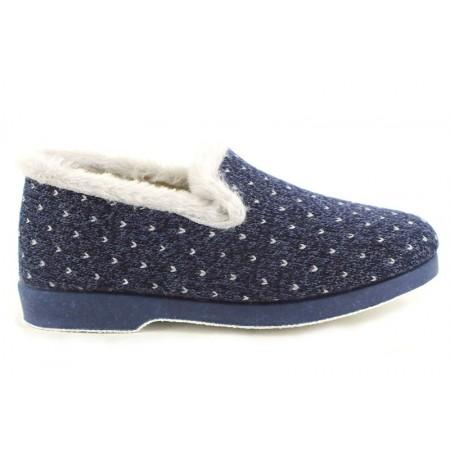 Zapatillas de casa de LARO modelo 42VICTORIA color azul marino