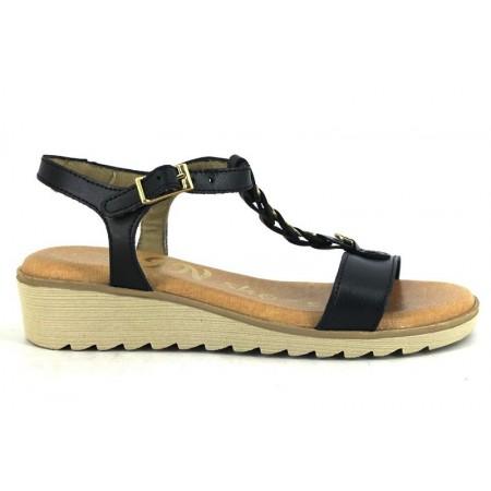 Sandalias de IN SHOES modelo 1069 color azul marino