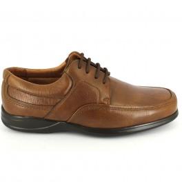 Zapatos con cordones de CLEAR modelo 1930 color cuero
