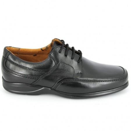 Zapatos con cordones de CLEAR modelo 1930 color negro