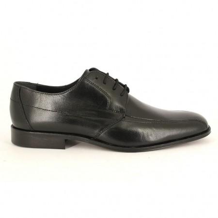 Zapatos con cordones de CLEAR modelo 2631GOMA color negro