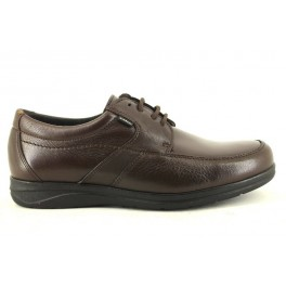 Zapatos con cordones de CLEAR modelo 3802 color marron