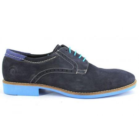 Zapatos con cordones de CLEAR modelo 4200 color azul marino