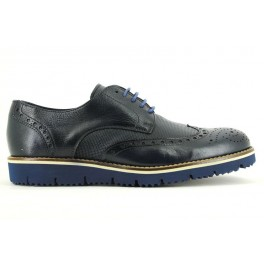 Zapatos con cordones de CLEAR modelo 4402 color azul marino