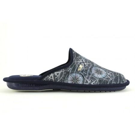 Zapatillas de casa de COSDAM modelo 1412 color azul marino