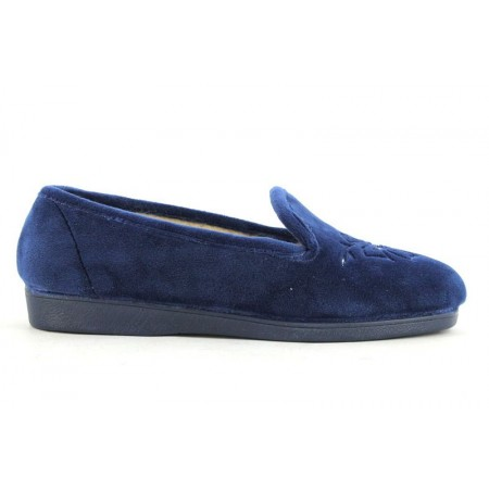Zapatillas de casa de NATALIA modelo 175/17 color azul marino