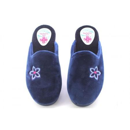 Zapatillas de casa de NATALIA modelo 301 color azul marino