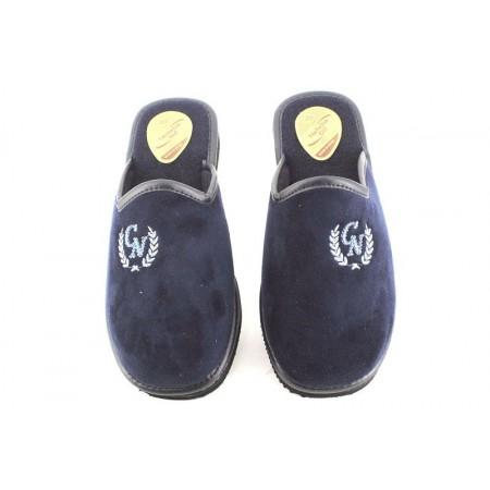 Zapatillas de casa de NATALIA modelo 344 color azul marino