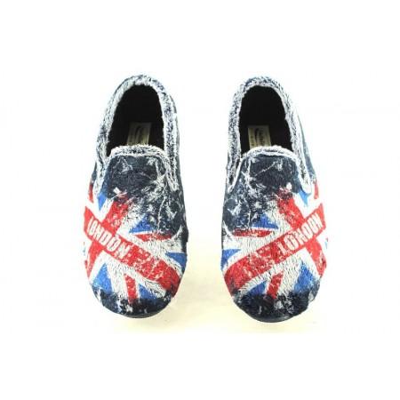 Zapatillas de casa de NATALIA modelo 6001 color azul marino