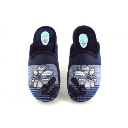 Zapatillas de casa de NATALIA modelo 9014 color azul marino