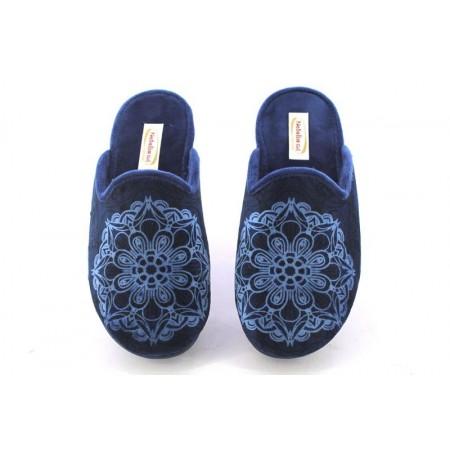 Zapatillas de casa de NATALIA modelo 9040 color azul marino