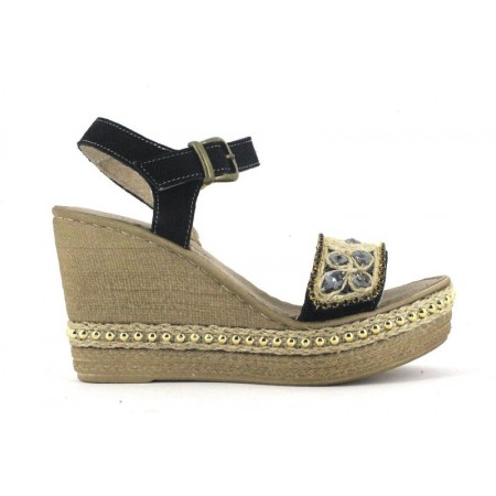 Sandalias de SOFT&LIGHT modelo 6470 color negro