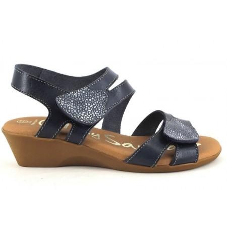 Sandalias de OH MY SANDALS modelo 4318-2390 color azul marino