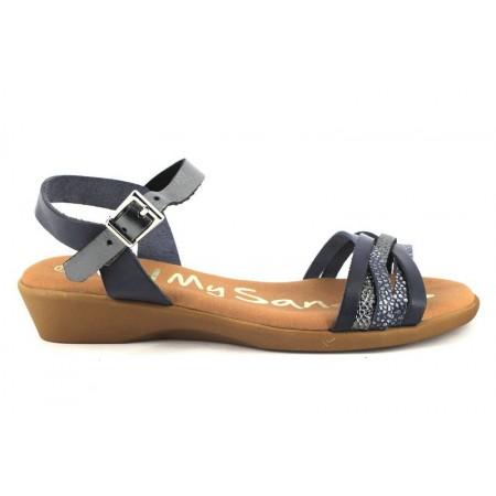 Sandalias de OH MY SANDALS modelo 4322-2371 color azul marino