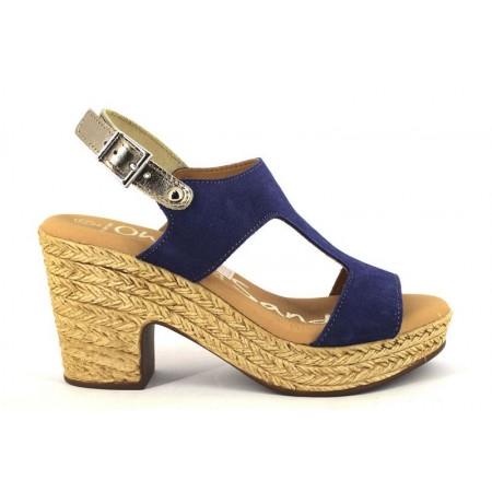 Sandalias de OH MY SANDALS modelo 4375-1166 color azul marino