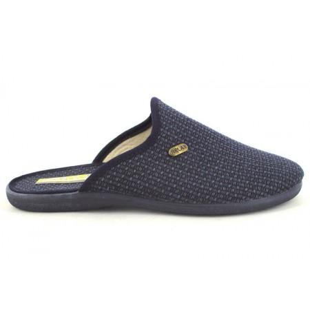 Zapatillas de casa de CARMELO RODRIGUEZ modelo 730/1 color azul marino