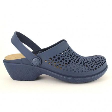 Zuecos/Mules de BOAONDA modelo 1140 color azul marino