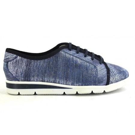 Zapatos con cordones de LA COLECCION modelo 4050N color azul marino