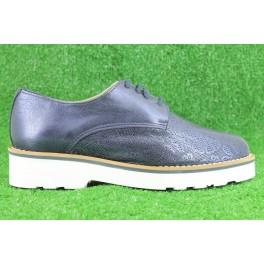 Zapatos con cordones de LA COLECCION modelo 6098 color azul marino