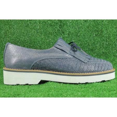 Zapatos de LA COLECCION modelo 6101 color azul marino