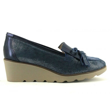 Zapatos de LA COLECCION modelo 6150 color azul marino