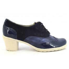Zapatos con cordones de DILAV modelo 370876 color azul marino