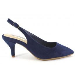 Zapatos de D'ANGELA modelo 15686 color azul marino