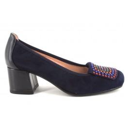 Zapatos de DUIT modelo 8206 color azul marino
