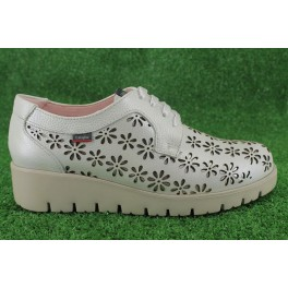 Zapatos con cordones de CALLAGHAN modelo 89850 color blanco