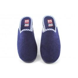Zapatillas de casa de GEMA modelo 7602-1 color azul marino