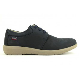 Zapatos con cordones de CALLAGHAN modelo 14600 color azul marino