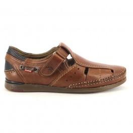 Sandalias de FLUCHOS modelo 9882 color cuero